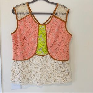 Lace Blouse / Anthropologie